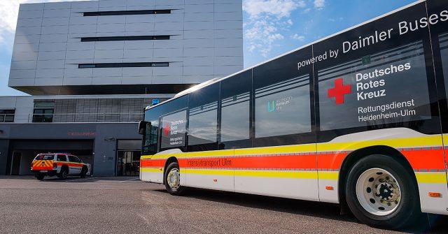 Der neue Intensivtransport-Bus des DRK Rettungsdienst Heidenheim-Ulm